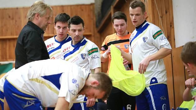 Olympik Mělník - Era-Pack Chrudim (1:13); 17. kolo Chance futsal ligy; 30. ledna 2015
