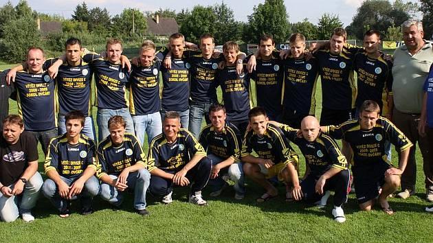 Sokol Ovčáry - vítěz divize C 2008/2009