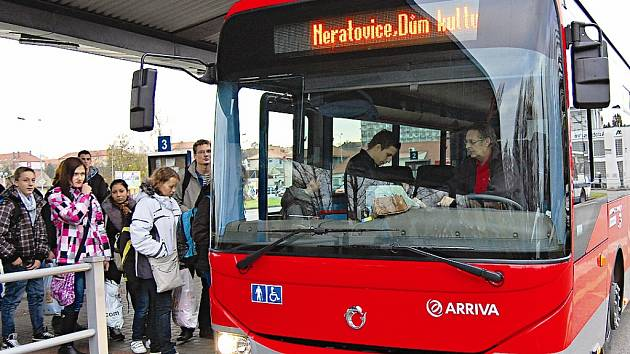 Do systému PID budou zařazeny i autobusové spoje společnosti Arriva.