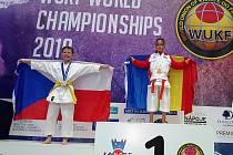 Karatisté SK Dragon Neratovice na mistrovství světa federace WUKF v Bratislavě.