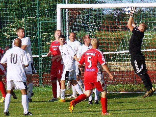 FK Vysoká - FC Mělník, I. B třída, 1. června 2014