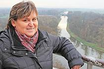 Ivana Laštůvková o sobě říká, že je mělnickou patriotkou.