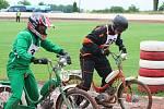 Pátý ročník Mistrovství světa mopedů Stadion na ploché dráze ve Mšeně