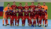 Futsalová reprezentace do 21 let prohrála přípravný zápas v Mělníce s Ruskem 1:6.