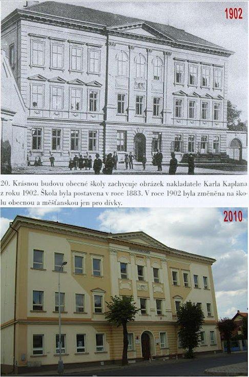 Škola na Komenského náměstí.