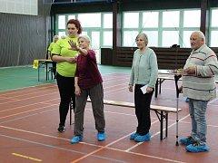 Hry pro seniory se letos v Mělníku uskutečnily poprvé. Senioři tak měli možnost vyzkoušet svou fyzickou zdatnost.