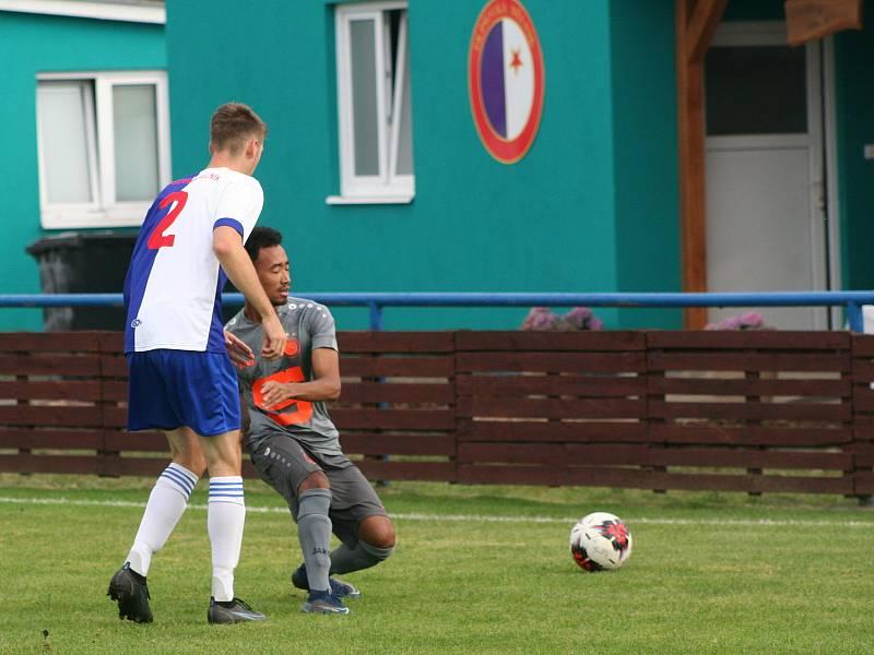 I. A třída: Pšovka Mělník - Slovan Poděbrady (3:0)