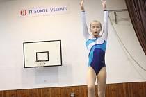 TJ Sokol Všetaty uspořádal v sobotu 20. ledna závody ve sportovní gymnastice.