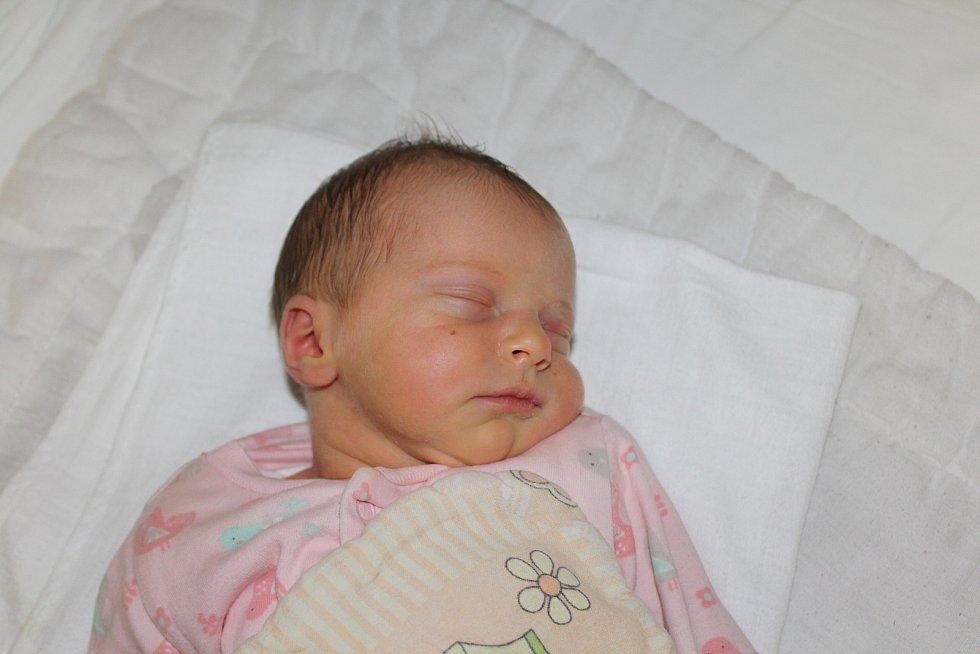 Karolína Linhartová, Praha. Narodila se 11. listopadu 2019, po porodu vážila 2 860 kg a měřila 48 cm. Rodiči Vojtěch a Klára Linhartovi.