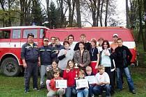 LIBĚCHOVŠTÍ hasiči se věnují také požárnímu sportu