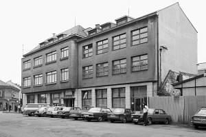 Fibichova ulice v 70. letech minulého století.