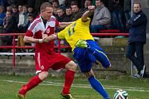 Sokol Brozany - FK Neratovice/Byškovice (2:1 po PK); 19. kolo divize B; 29. března 2015