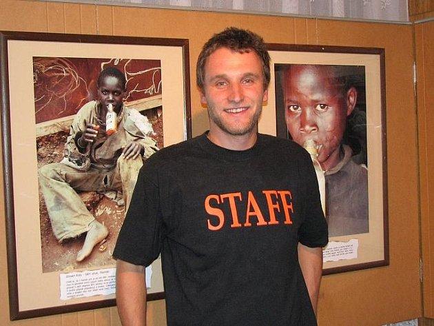 David Švejnoha představil fotografie z Keni.