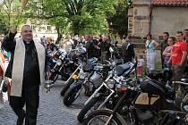 2. motorkářské žehnání v Mělníku.