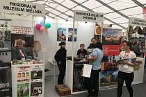 Regionální muzeum Mělník vyrazilo prezentovat své expozice, výstavy a služby na pražský veletrh Holiday World 2019.