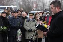 V Mělníku uctili památku Jana Palacha a Romase Kalanty.