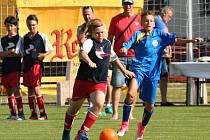 Finále Kába cupu v Horních Počaplech ovládli fotbalisté Dolních Břežan.