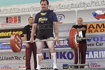 Štefan Zvada získal na mistrovství světa masters bronz.