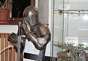 Z vernisáže výstavy Poklady Rytířů Mělnických v Regionálním muzeu v Mělníku.