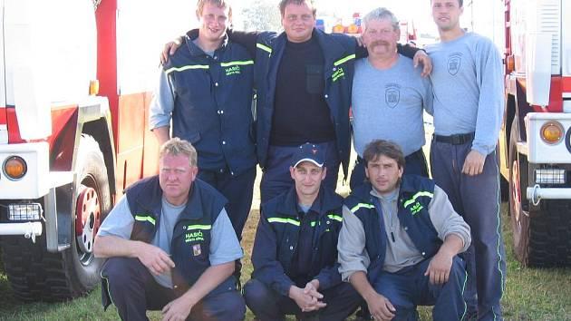 Dobrovolní hasiči ze Mšena