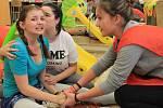 Soutěž v první pomoci pro základní školy.