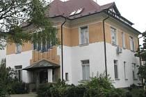 Žilkova vila v Mělníku.