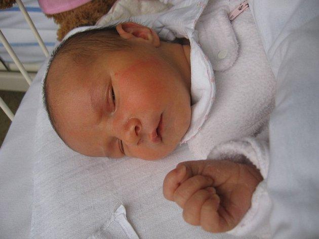 EliškaVogelová se rodičům Ivě Benešové a Františku Vogelovi z Mělníka narodila 9. listopadu 2007, vážila 3,50 kg a měřila 50 cm.
