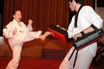 Na akci Sportem pro život se představilo i Hansoo Taekwondo  Mělník
