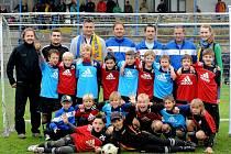 Spolana cup, fotbalový turnaj hráčů kategorie mladší přípravky na stadionu v Neratovicích.