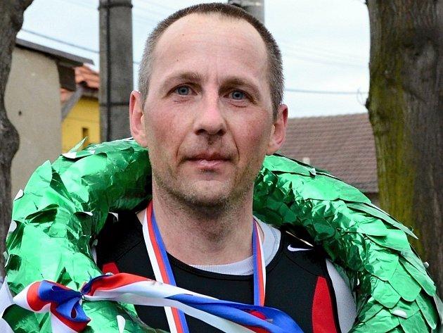Josef Veber vyhrál Borecký půlmaraton i Mělnický maraton míru