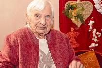 Vánoční výstava výrobků seniorů z Domu Kněžny Emmy v Neratovicích.
