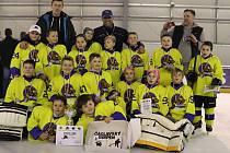 Hokejisté neratovických Buldoků ročníku narození 2010 vyhráli turnaj Čáslavský gripen.