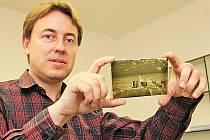 Martin Klihavec získal skleněné negativy staré přes sto let.