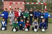 Talentové zkoušky absolvovali nedávno uchazeči, kteří chtějí nastoupit do nově vzniklé fotbalové třídy v Neratovicích.