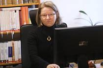 Ředitelka mělnické Městské knihovny Hana Lumpeová.