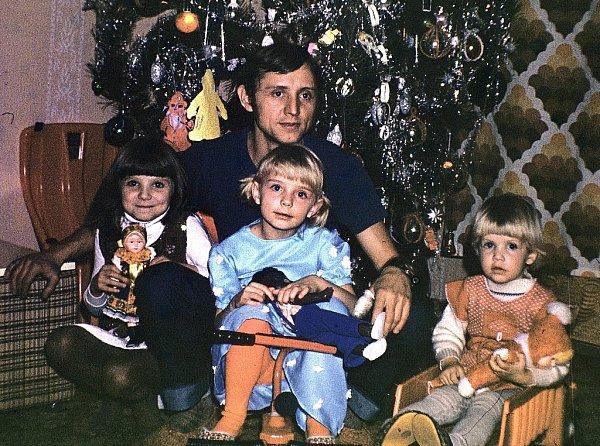 Na Vánoce vzpomíná Adriana Rohde Kabele (vlevo) ráda.