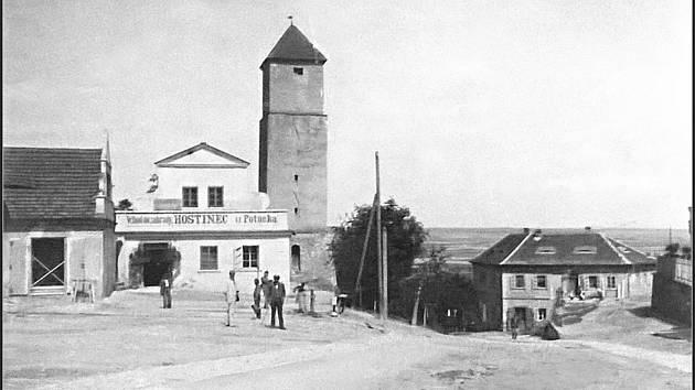 Hostinec U Potůčka v roce 1895.