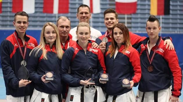 Karatisté SK Shotokan na ME J.K.A. v Norsku