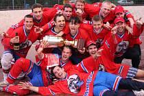Minice Quijotes získali po jedenácti letech titul v kralupské I. AHL