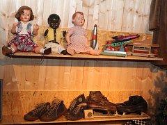 Vánoce 50. a 60. let v mělnickém muzeu.