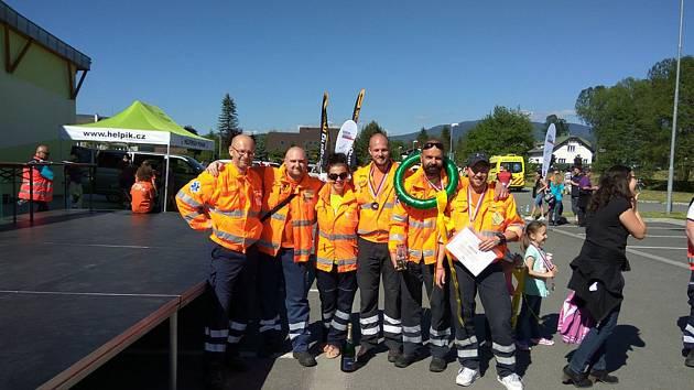 Mělničtí záchranáři se zúčastnili mezinárodní soutěže Rallye Rejvíz 2017, která se konala na Šumpersku.