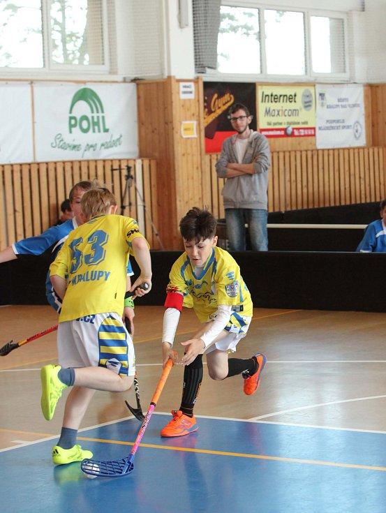 Florbalový turnaj Kralupy Open