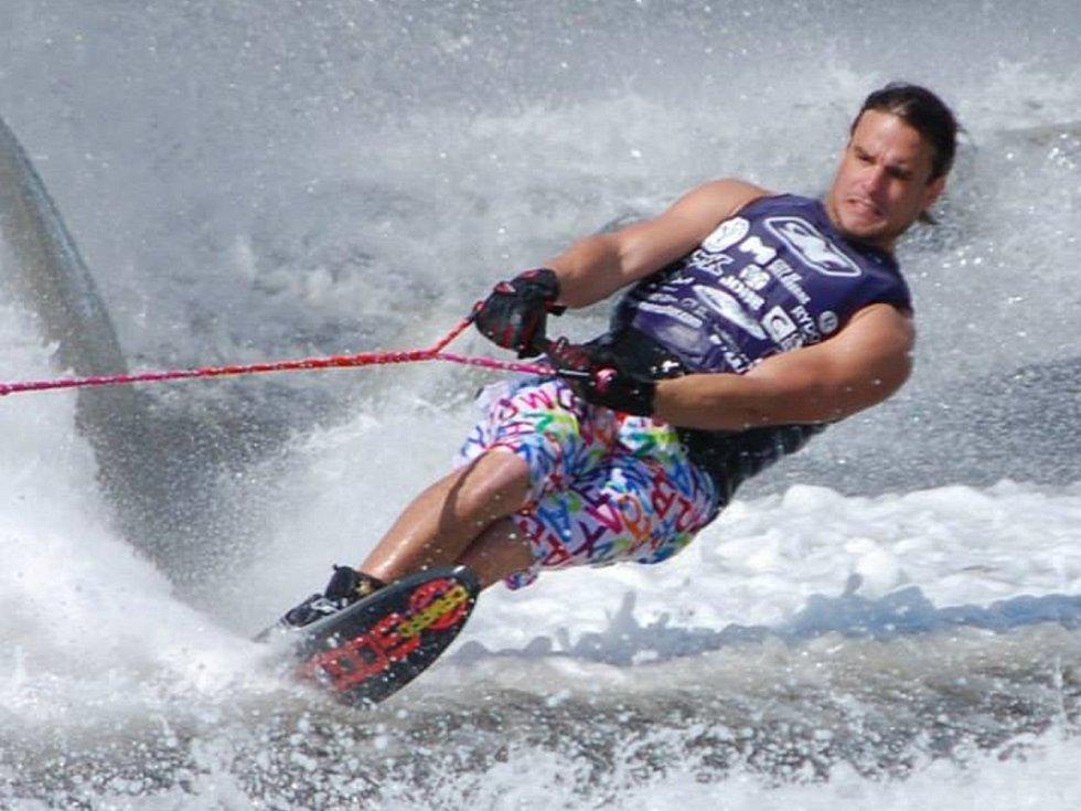 Vodní lyžař WSC Neratovice Adam Sedlmajer