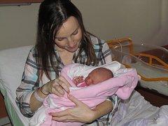 První miminko letošního roku a zároveň první mělnický občánek je děvčátko Anička Matějíčková, která se narodila ve zdejší porodnici krátce po třetí hodině ranní hned prvního lednového dne.