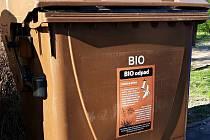 Kontejner na bioodpad. Ilustrační foto.