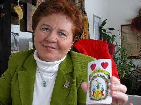 Věštkyně Helena Légrová.