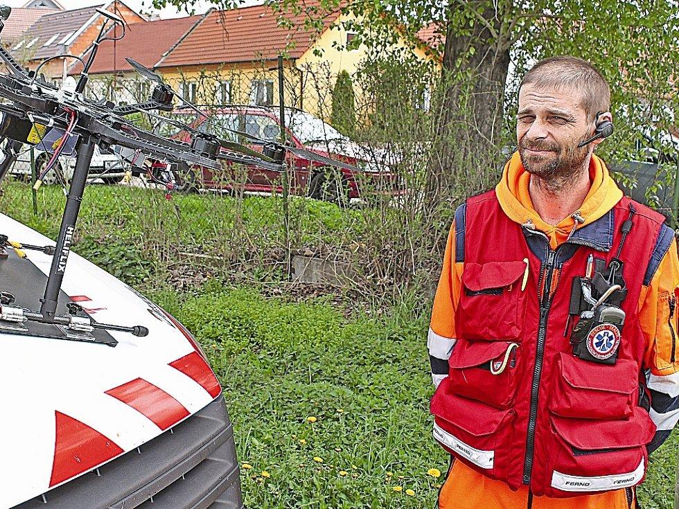 Damian Kajaba, ředitel Lokalizační záchranné služby ČR.