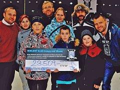 Exhibiční utkání v Kralupech vyneslo tamnímu dětskému domovu více než 23 tisíc korun.