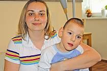 Maminka malého Jakuba Navary Petra je neustále optimisticky naladěná
