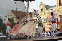 Dvacátý ročník Folklorního festival Mělnický Vrkoč.
